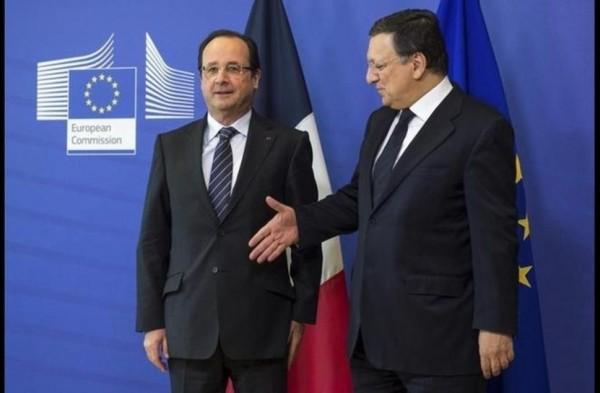 Avec le président de la Commission européenne