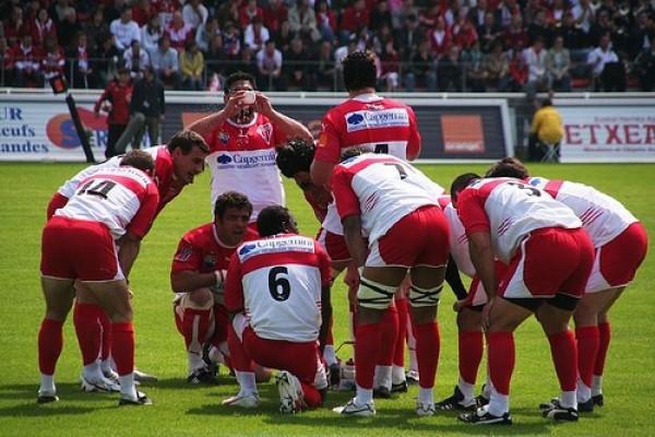 Parce que le rugby c'est un sport d'équipe