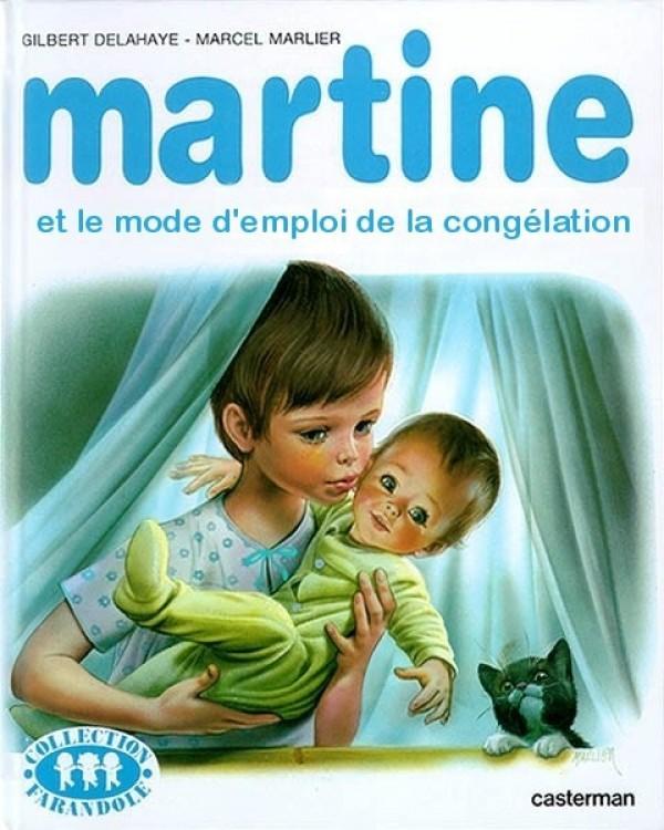 Martine et le mode d'emploi de la congélation