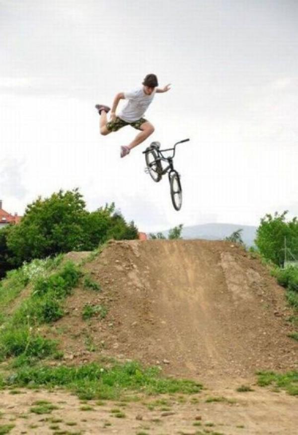 Ne pas lâcher le vélo ... le retour