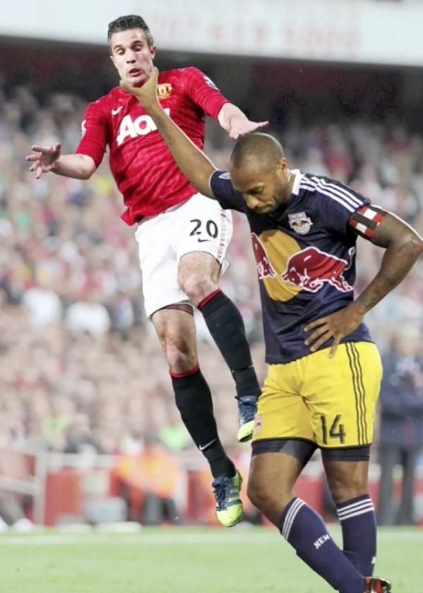 Thierry Henry et son etranglement