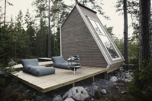 Une maison de 9 mètres carrés._