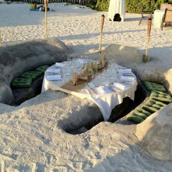 Littéralement DANS la plage au Lido Beach Resort à Sarasota en Floride
