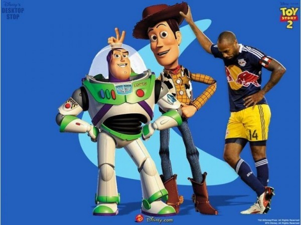 Thierry Henry dans Toy Story 2