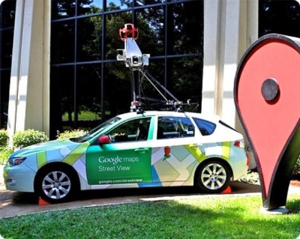 La voiture Google Street
