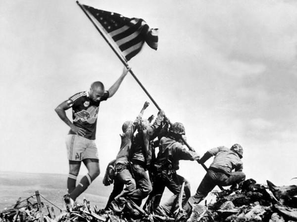 Thierry Henry à Iwo Jima
