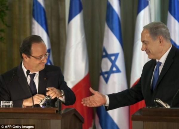 Avec le Premier ministre israélien