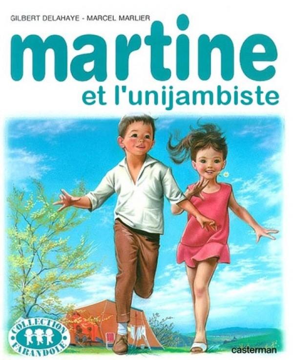 Martine et l'unijambiste