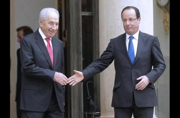 Avec le président israélien