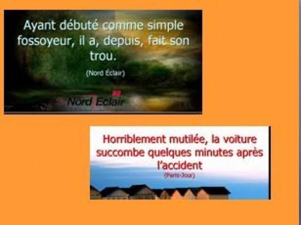 Coquilles de Nord Eclair et Paris Jour
