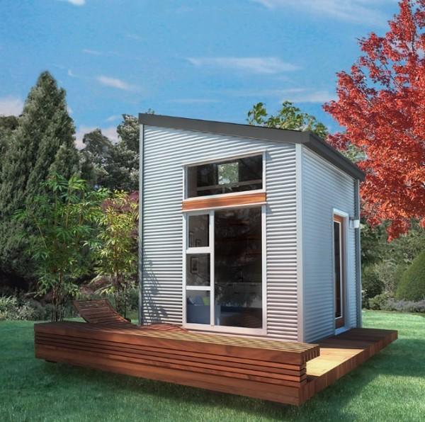Un concept de micro maison nomade