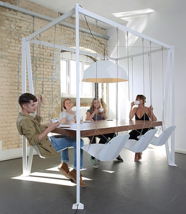 La table balançoire