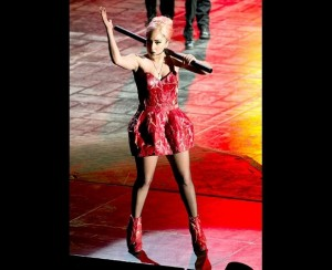 Voter pour Lady Gaga's meat dress