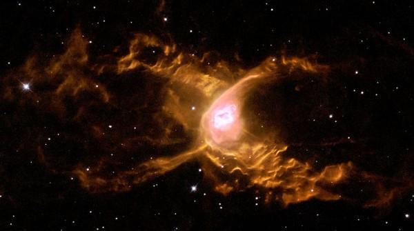 The Red Spider Nebula Surfing in Sagittarius