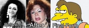 Voter pour Devenir Nelson des Simpsons