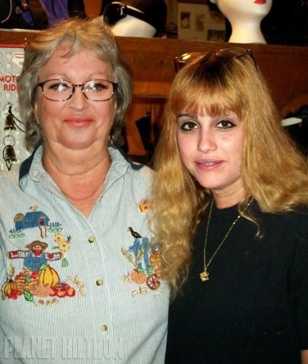 Madonna et sa fille