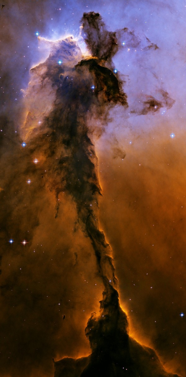The Eagle has risen Stellar spire in the Eagle Nebula