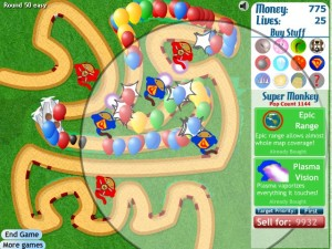 Voter pour Bloons TD 3