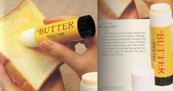 Un stick à beurre