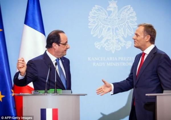 Avec le Premier ministre polonais