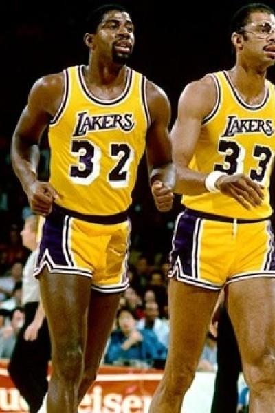 Magic Johnson - Kareem Abdul-Jabbar