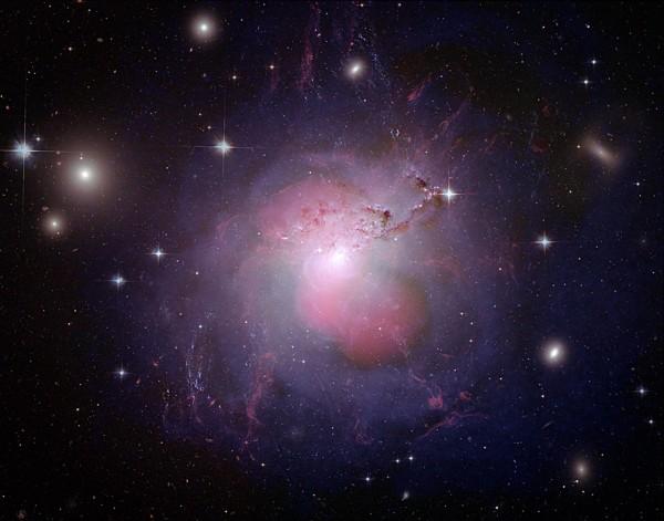 NGC 1275 multi-wavelength composite