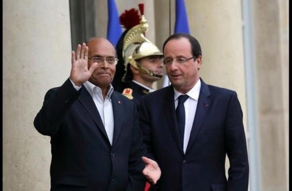 Avec le président tunisien