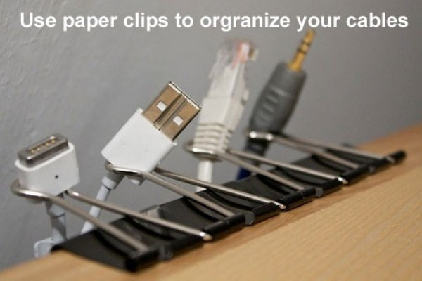 éviter d'emmêler les câble de l'ordinateur