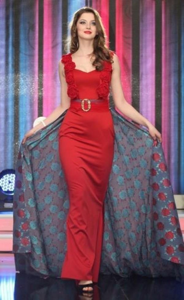 Miss Ukraine. Hanna Zayachkivska