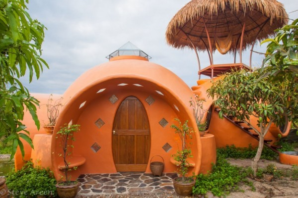 Une maison « Dome Dream Home » en Thaïlande