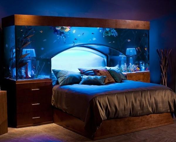 Le lit aquarium