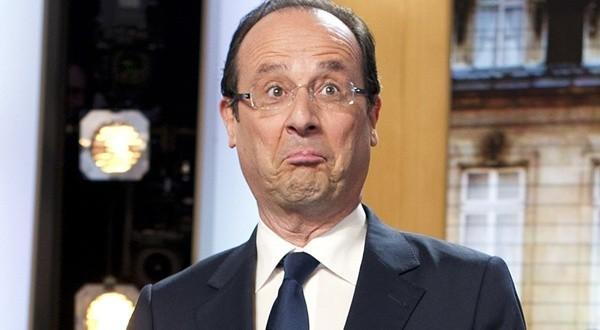 François Hollande trouve ça ridicule