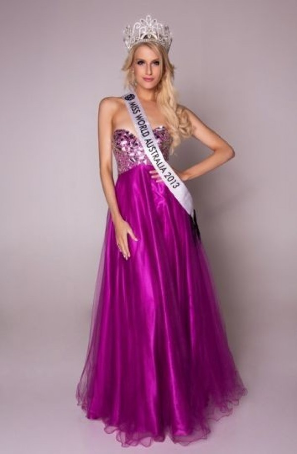 Miss Australie, Erin Holland