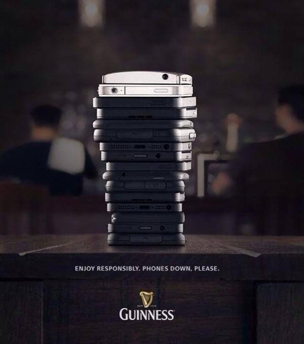 Guinness  Profitez en toutes responsabilités.