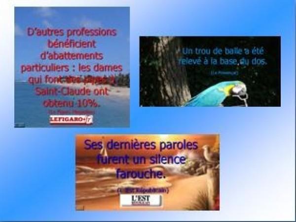 Coquilles du Figaro avec Le Parisien et L'Est Républicain