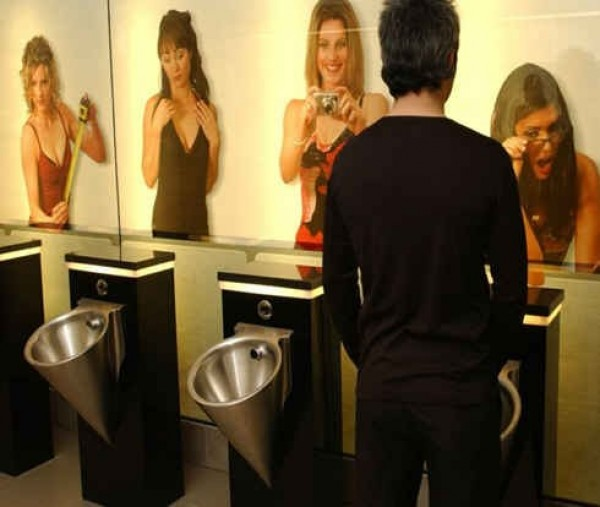 La salle toilettes originales