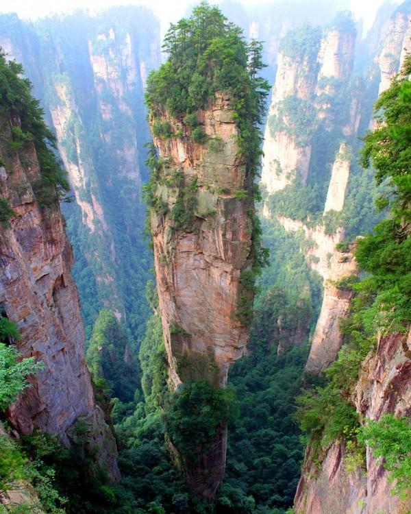 Chine - Montagnes de Tianzi
