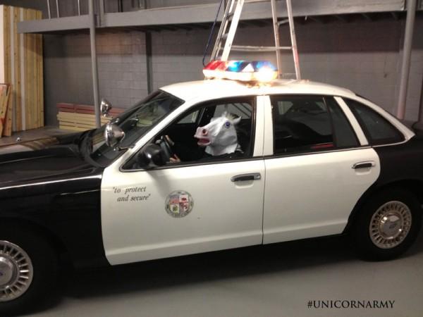 Elles volent des voiture de police