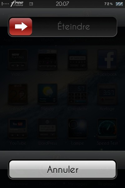 Eteindre votre iPhone totalement (général)