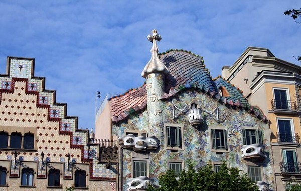 CASA BATTLO (BARCELONA, SPAIN)