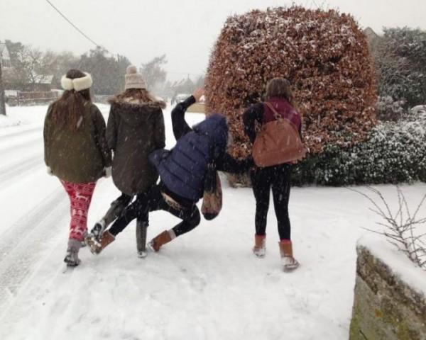 Les malheurs de l'hiver