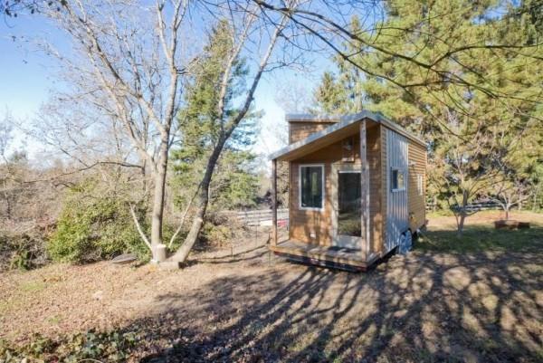 Une mini maison nomade