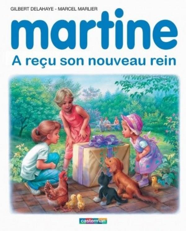 Martine a reçu son nouveau rein