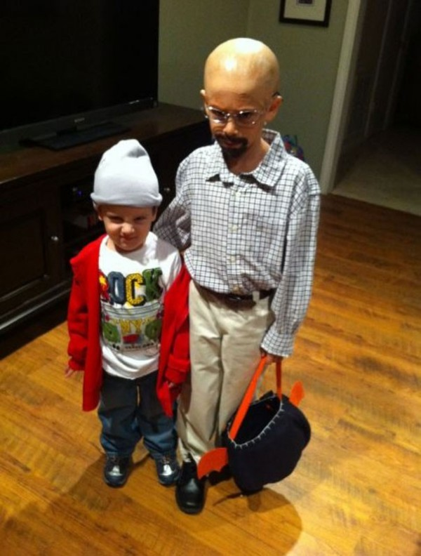 Walter White and Pinkman de Breaking Bad (même pas peur)
