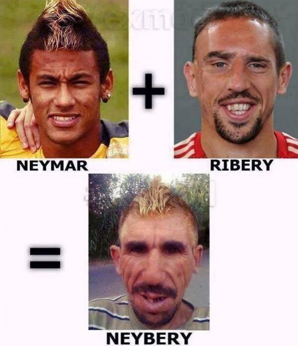 Neymar et Ribery ont un enfant