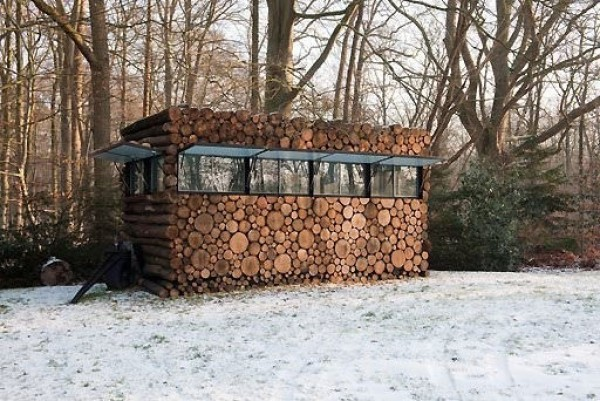 Une maison camouflage en Hollande