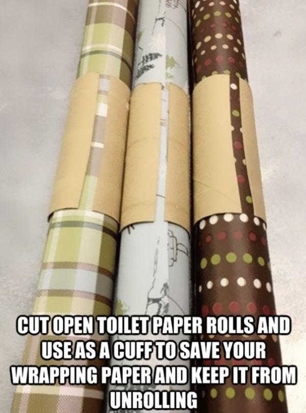 Couper un rouleau de PQ pour stocker vos posters ou emballages