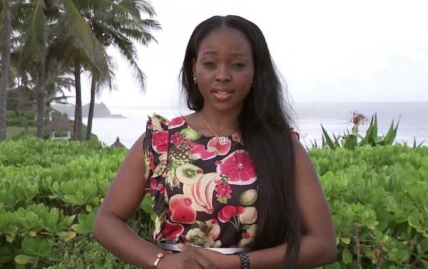 Miss Gabon, Brunilla Novela Ekoumbi Moussadingou