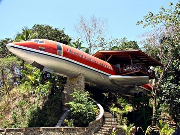 Une maison dans un Boeing 727