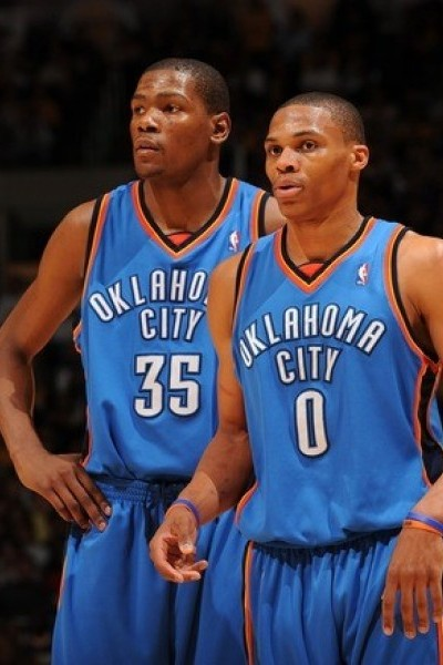 Kevin Durant - Russell Weesbrook